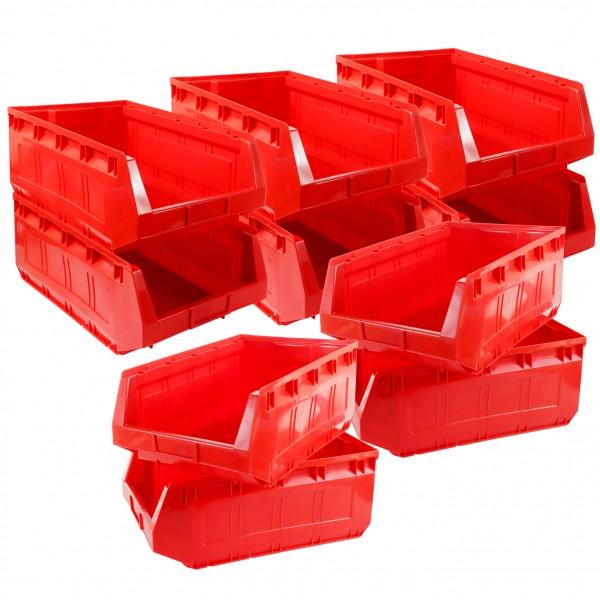 Vorteilspreis - 10er Set Ergobox, rot, Gr. 2