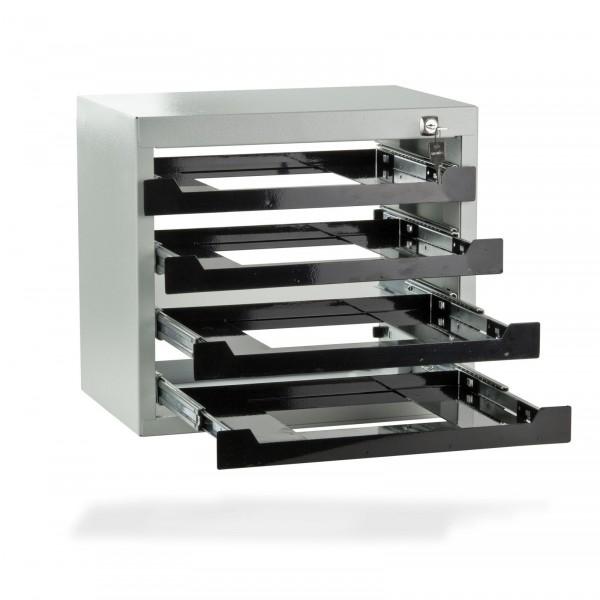Werkzeug-Tresor, Stahlblech, RAL 7035 Struktur