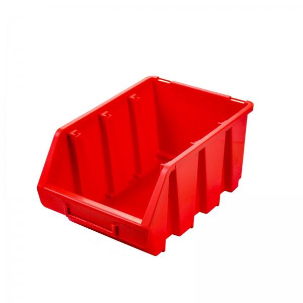 Sichtlagerkasten Gr. 3, rot