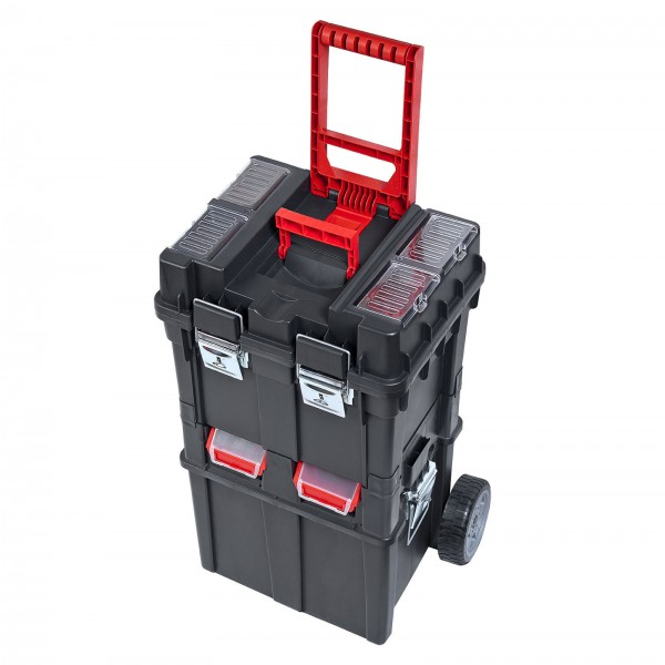 Werkzeugkoffer-Trolley/Wheelbox HD Compact, 495x350x712mm