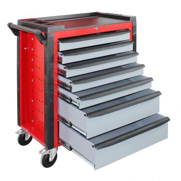 """Werkstattwagen """"Red Devil"""" mit sieben Schubladen"""