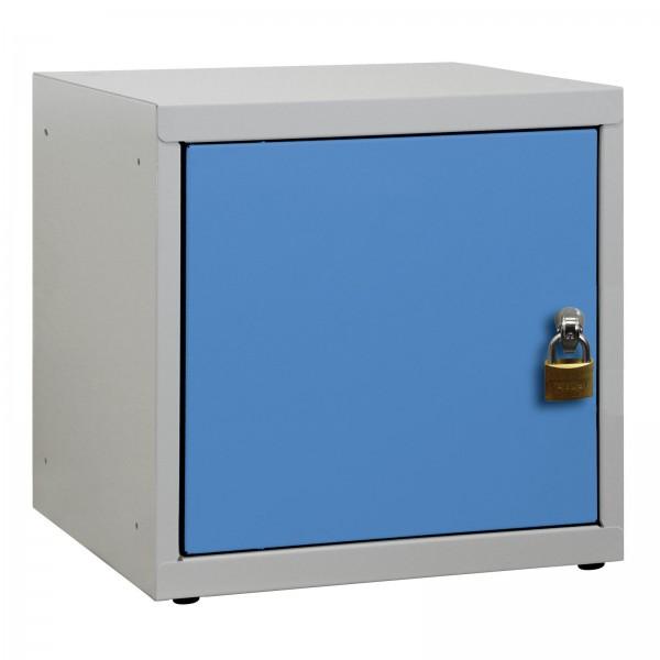 ADB Wertfach-Würfel mit Drehriegelschloss, Lichtblau
