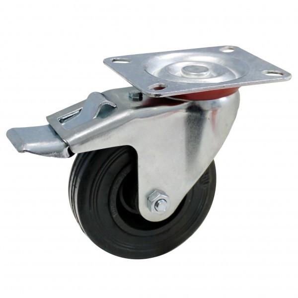 ADB Lenkrolle mit Bremse, Ø 100 mm, Tragfähigkeit bis 50 kg