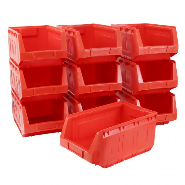 Vorteilspreis - 10er Set Ergobox, rot, Gr. 3