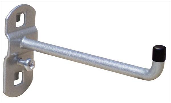 Werkzeughalter, 125 mm, senkrechtes Hakenende