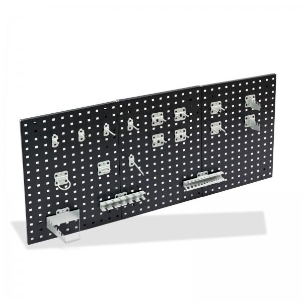 ADB Hakensatz/Werkzeughalter, 18 tlg., RAL 9006