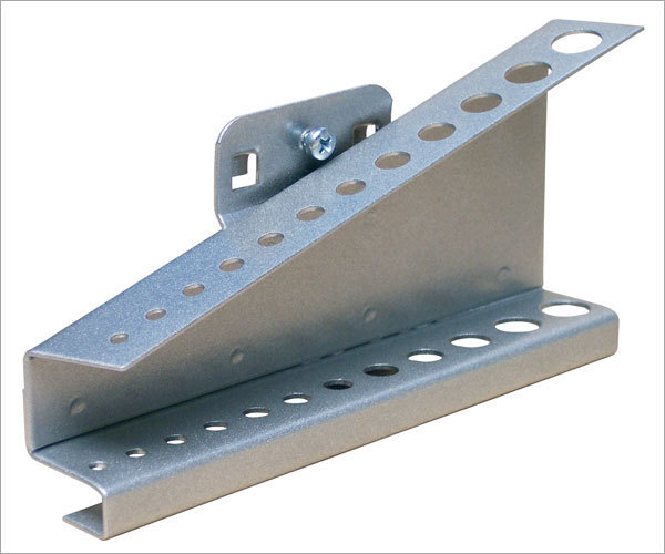 ADB Werkzeughalter Lochwand 35 150 125 75 200 mm mit senkrechten Hakenende