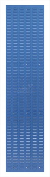 Schlitzplatte, senkrecht, H 1975 x B 456 mm; RAL 5012