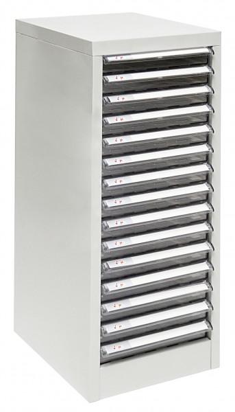 ADB Metall Schubladencontainer / Büro Schubladenbox mit 15 Schubladen