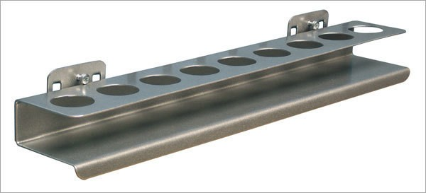ADB Nusshalter-Ablage mit 9 Löcher, B 390 x H 30 mm