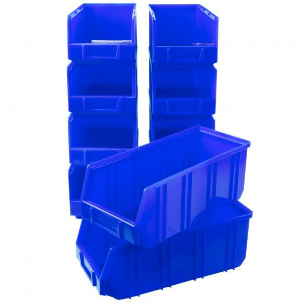 Vorteilspreis - 10er Set Ergobox, blau, Gr. 5