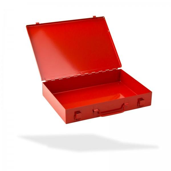 ADB Stahlblechkasten ohne Einlage, rot
