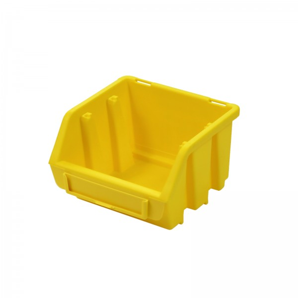 Sichtlagerkasten Gr. 1, gelb