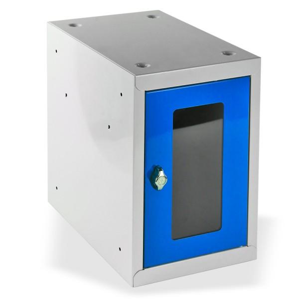 ADB Schließfach-Würfel mit Sichtscheibe, Lichtblau
