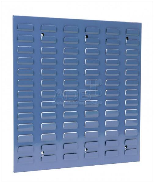 Schlitzplatte, senkrecht, H 493 x B 456 mm, RAL 5012