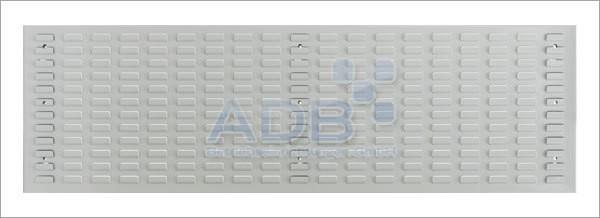 Schlitzplatte, waagerecht, L 1482 x B 456 mm, RAL 7035