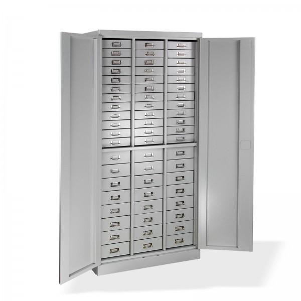 ADB Schubladenschrank / Werkzeugschrank / Materialschrank 60 Schubladen 1790x800x410 mm