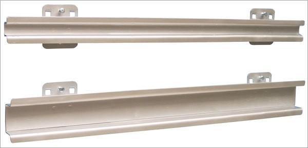 Lagersichtkastenhalter, B 550 x H 60 mm