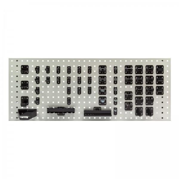 ADB Hakensatz/Werkzeughalter, 50 tlg., RAL 9005