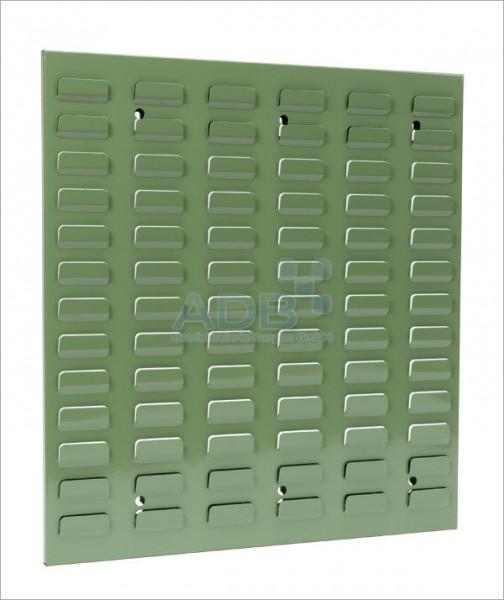 Schlitzplatte, senkrecht, H 493 x B 456 mm, RAL 6011