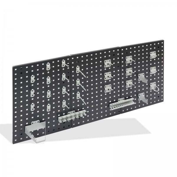 ADB Hakensatz/Werkzeughalter, 28 tlg., RAL 9006