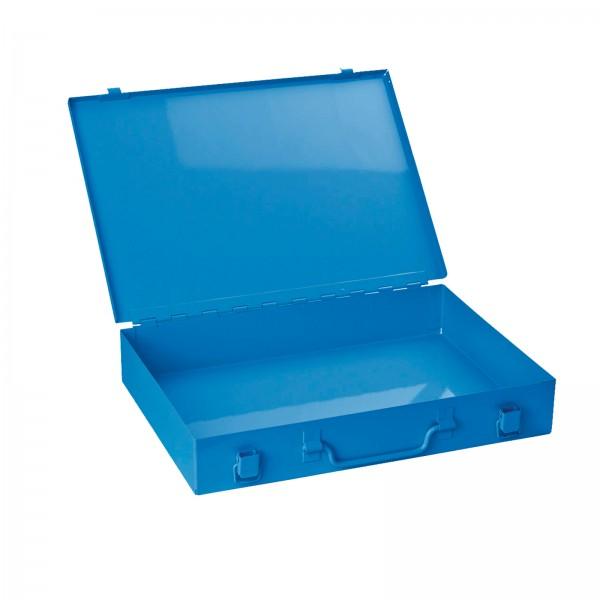 Stahlblechkasten ohne Einlage, blau