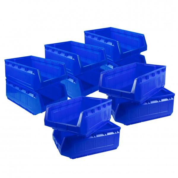Vorteilspreis - 10er Set Ergobox, blau, Gr. 2