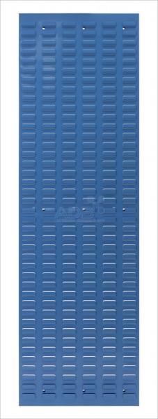 Schlitzplatte, senkrecht, H 1482 x B 456 mm, RAL 5012