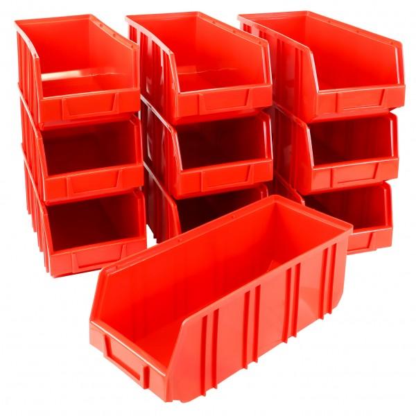 Vorteilspreis - 10er Set Ergobox, rot, Gr. 5