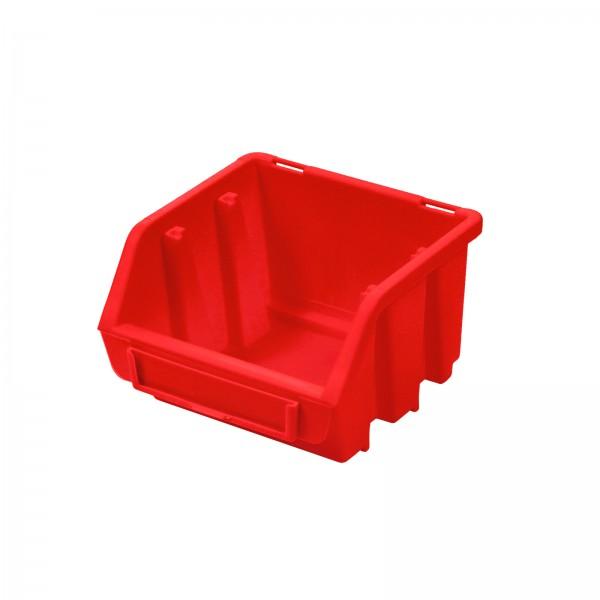 Sichtlagerkasten Gr. 1, rot