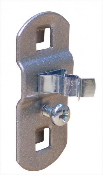 Lochwand-Werkzeugklemme, einfach, Ø 6 mm
