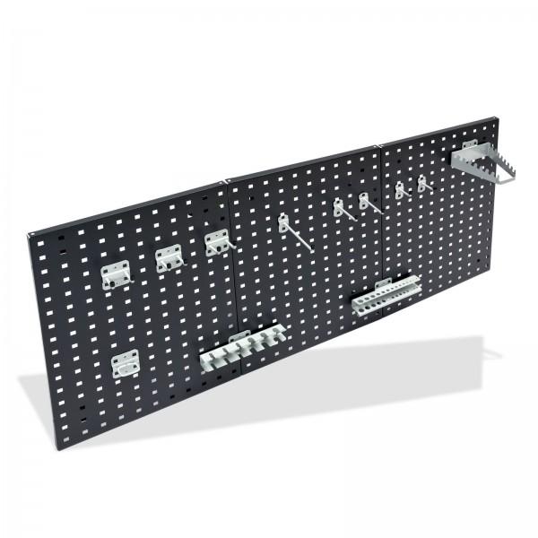 ADB Hakensatz/Werkzeughalter, 12 tlg., RAL 9006