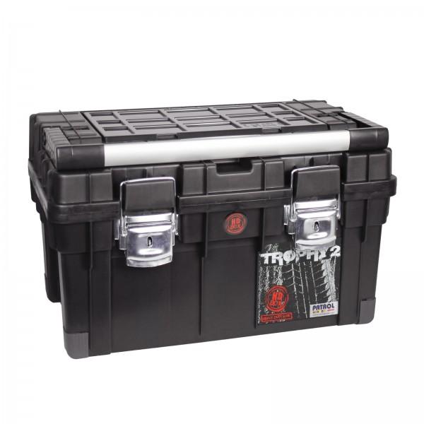 ADB Werkzeugkoffer/Werkzeugkasten HD Trophy 2, schwarz