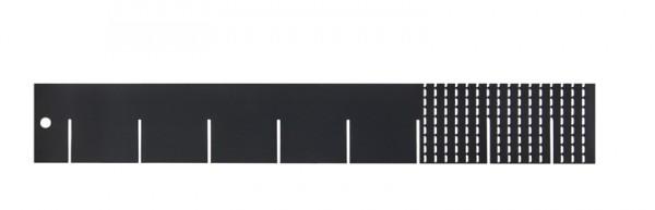 Universaleinteiler, 40 cm, Anthrazitgrau (RAL 7016)