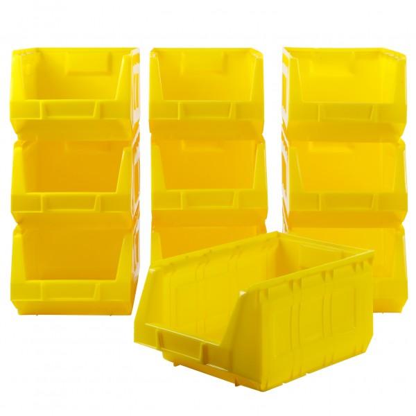 Vorteilspreis - 10er Set Ergobox, gelb, Gr. 3