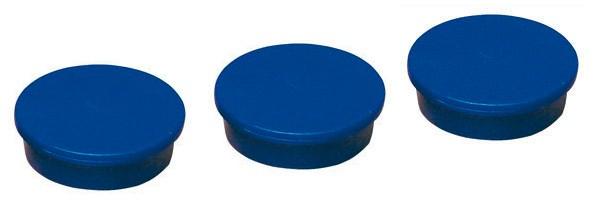 Magnete, Blau, Ø 25 mm, 10 St.