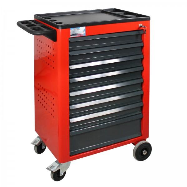 ADB Werkstattwagen Basic mit 8 Schubladen, rot