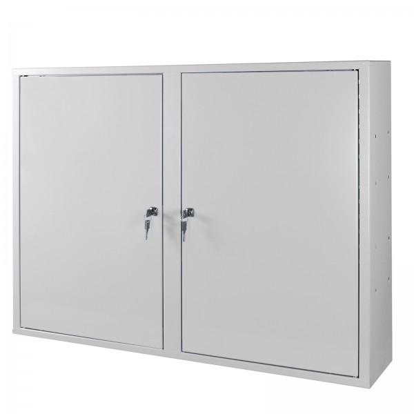 ADB Werkzeugwandschrank mit 2 Türen, 3 Fachböden, Grau