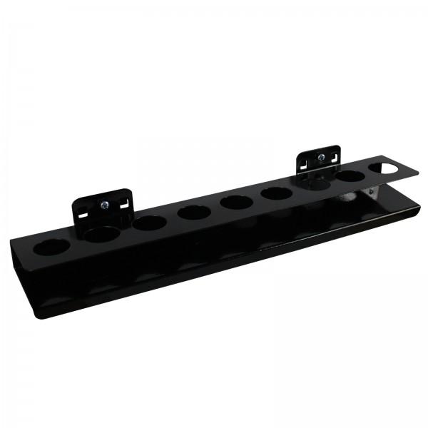 Nusshalter-Ablage mit 9 Löchern, B 390 x H 30 mm