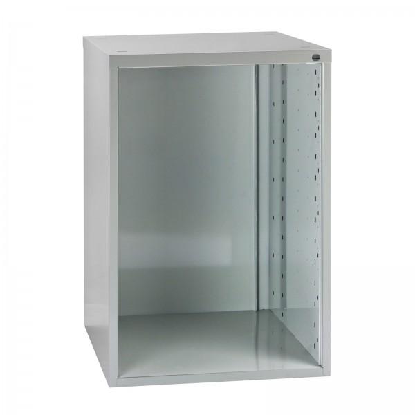ADB Schubladenbox, leer, Nutzhöhe 550 mm, Lichtgrau