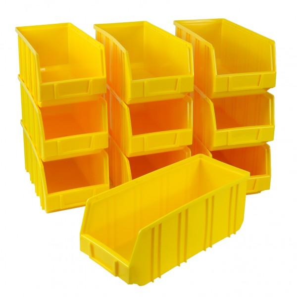 Vorteilspreis - 10er Set Ergobox, gelb, Gr. 5