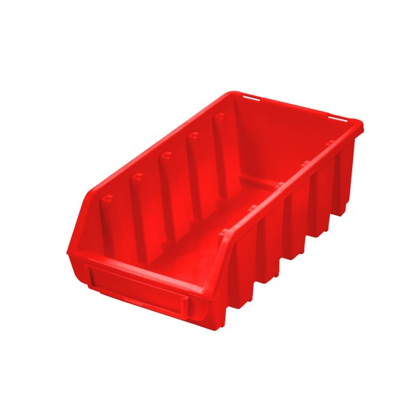 Sichtlagerkasten Gr. 2L, rot