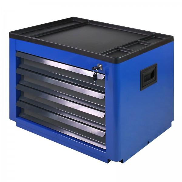 """Werkzeugtruhe """"Basic"""" mit 4 Schubladen in Blau"""