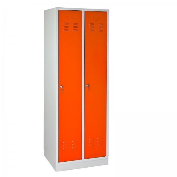 ADB Umkleideschrank Regular Spind orange 1775x600x500 mm