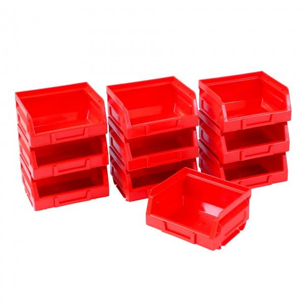 Vorteilspreis - 10er Set Ergobox, rot, Gr. 8