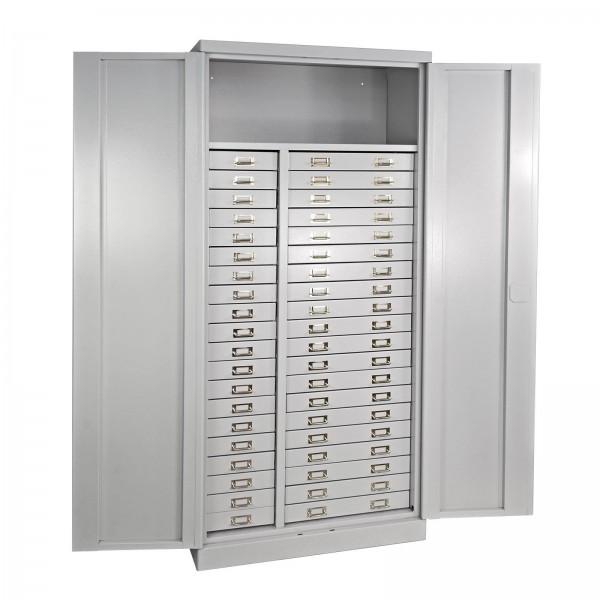 ADB Schubladenschrank mit 40 Schubladen und 1 Ablageboden