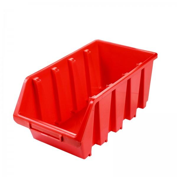 Sichtlagerkasten Gr. 4, rot