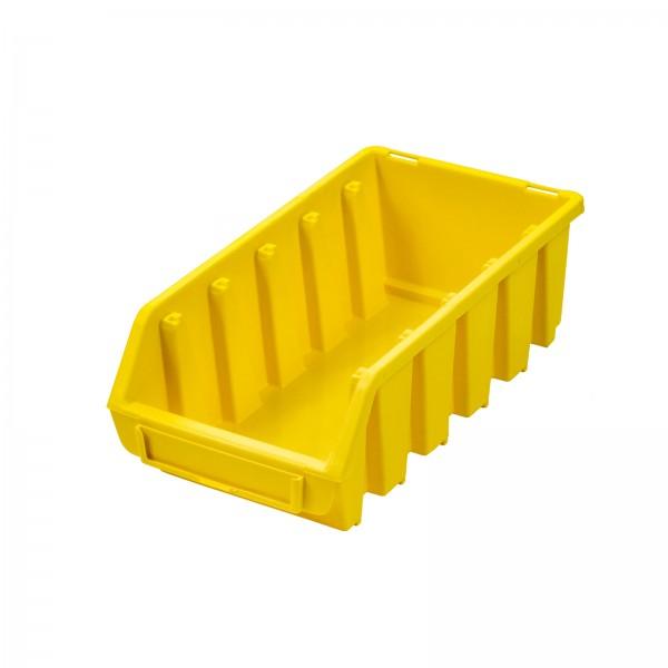 Sichtlagerkasten Gr. 2L, gelb