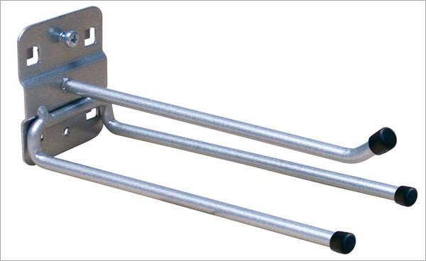 ADB Lochwand-Werkzeughalter, 3-fach, 150 mm, RAL 9006