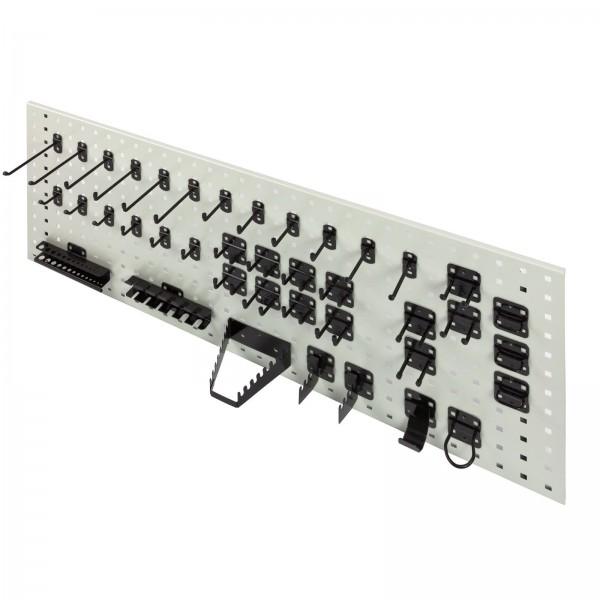 ADB Hakensatz/Werkzeughalter, 40 tlg., RAL 9005